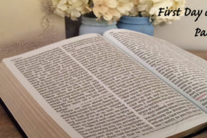 The First Day of the Week in the New Testament (part 6 of 8)